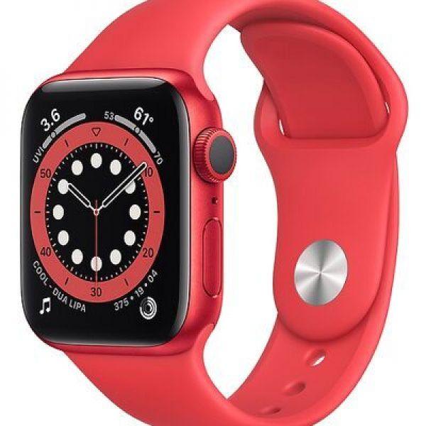 APPLE WATCH 6 - 44MM - GPS - RED CASE (M00M3)